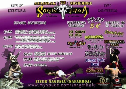 cartel sorgin gaua 2009