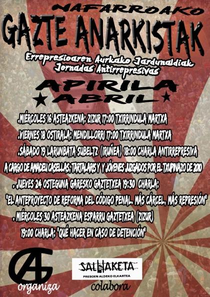 cartel general gazte anarkistak 72px